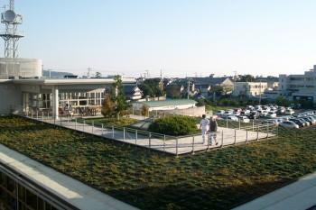 総合リハビリテーションセンター屋上